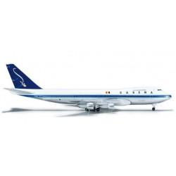 SABENA BOEING 747-100 HERPA WINGS 523127 scala 1:500 model