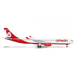AIR BERLIN AIRBUS A330-300 HERPA WINGS 524056 scala 1:500 model