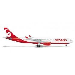 AIR BERLIN AIRBUS A330-300 HERPA WINGS 524056 scala 1:500 model