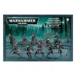 10 FURIE miniature Citadel ELDAR OSCURI Warhammer 40000 GAMES WORKSHOP dark 40K età 12+