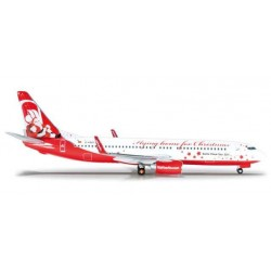 AIRBERLIN BOEING 737-800 CHRISTMAS HERPA WINGS 523448 scala 1:500 model