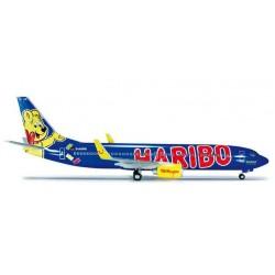 TULFLY HARIBO GOLDBAIR BOEING 737-800 HERPA WINGS 554480 scala 1:200 model
