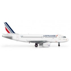 AIR FRANCE AIRBUS A319 HERPA WINGS 555371 scala 1:200 model