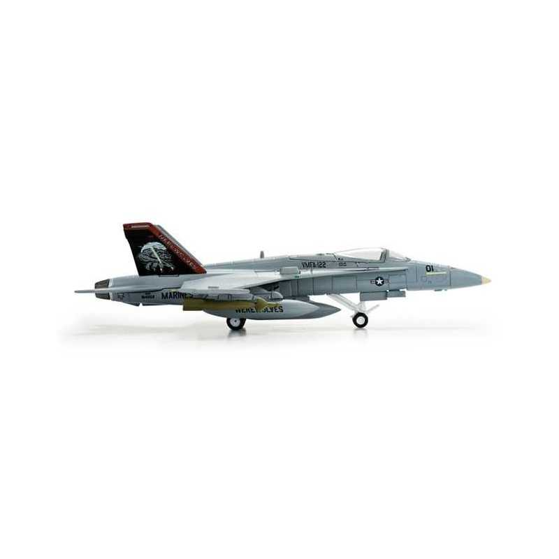 US MARINE CORPS MCDONNELL DOUGLAS F/A-18C HERPA WINGS 554138 scala 1:200 model
