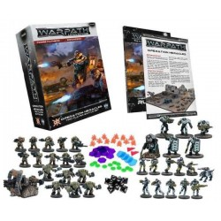 WARPATH OPERATION HERACLES 2 players battle set MANTIC gioco di miniature sci-fi 34 miniatures