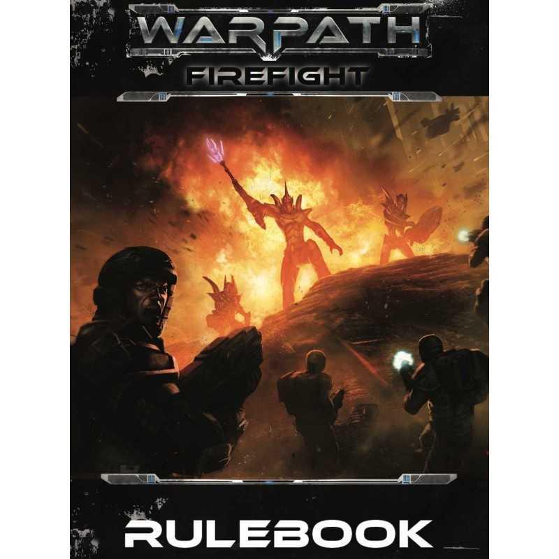 WARPATH FIREFIGHT RULEBOOK MANTIC regolamento gioco di miniature sci-fi in inglese