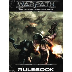 WARPATH RULEBOOK MANTIC regolamento gioco di miniature sci-fi in inglese THE FUTURISTIC BATTLE GAME