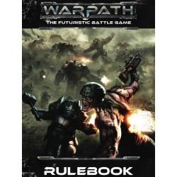 WARPATH RULEBOOK MANTIC regolamento gioco di miniature sci-fi in inglese THE FUTURISTIC BATTLE GAME