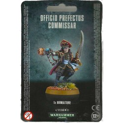 OFFICIO PREFECTUS COMMISSAR 1 miniatura COMMISSARIO Warhammer GAMES WORKSHOP 40K 40000 età 12+