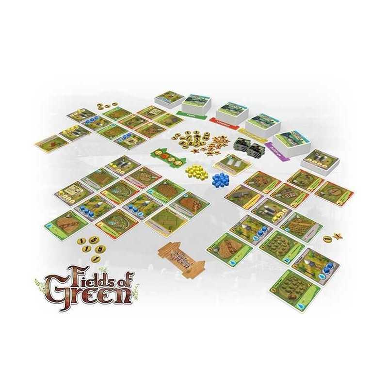 FIELDS OF GREEN edizione italiana GHENOS gioco da tavolo di gestione fattoria