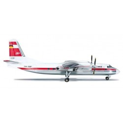 INTERFLUG ANTONOV AN-24V HERPA WINGS 554374 scala 1:200 model