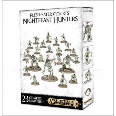 FLESH-EATER COURTS NIGHTFEAST HUNTERS Warhammer Age of Sigmar Skirmish Team 23 miniature