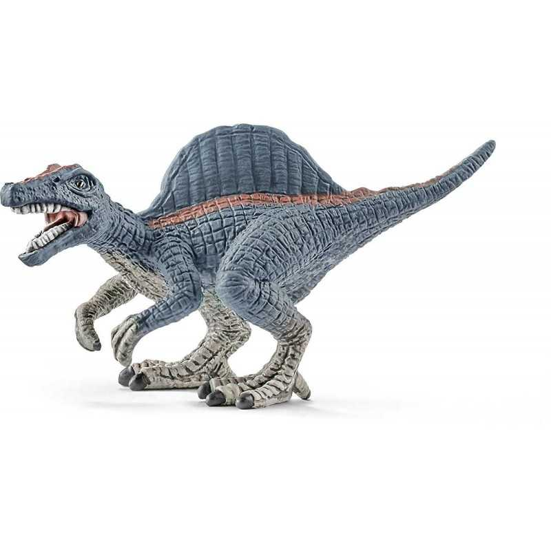 MINI SPINOSAURO dinosauro in resina SCHLEICH 14599 JURASSIC WORLD