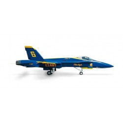 US NAVY MCDONNEL DOUGLAS F/A-18 HORNET BLUE ANGELS HERPA WINGS 553551 scala 1:200 model