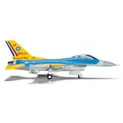 US AIR FORCE TEXAS ANG LOCKHEED F-16C 90TH ANNIVERSARY HERPA WINGS 555043 scala 1:200 model