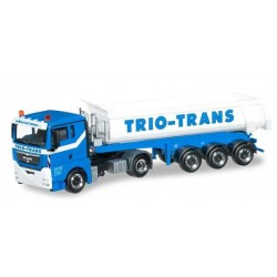 MAN TGX XL DUMP TRIO TRANS Herpa 304092 Auto Trucks Camion scala 1:87 model