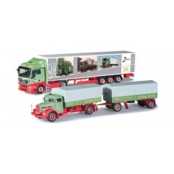 SET 2 CAMION 75 JAHRE WANDT Herpa 303606 Auto Trucks Camion scala 1:87 model