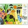 COLORARE VELLUTO COLORADO kit artistico panoramico CREATIVO Djeco DJ09625