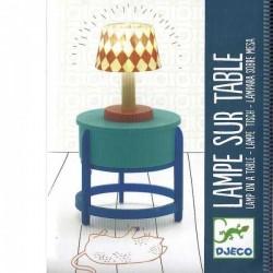 LAMPADA A LED SU TAVOLINO per casa delle bambole Djeco DJ07830
