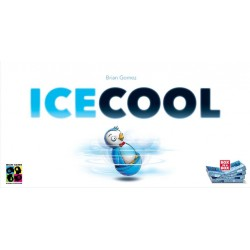 ICE COOL pinguini monelli PARTY GAME abilità TABELLONE DA COMPORRE ruba pesce BIDELLO età 6+