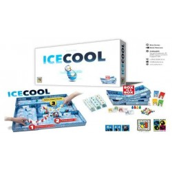 ICE COOL pinguini monelli PARTY GAME abilità TABELLONE DA COMPORRE ruba pesce BIDELLO età 6+