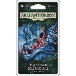 Espansione LE DIMENSIONI DELL'INVISIBILE pack mito 4 ARKHAM HORROR il gioco di carte ASTERION edizione italiana LCG età 14+