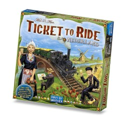 NEDERLAND espansione per TICKET TO RIDE olanda paesi bassi DAYS OF WONDER età 8+