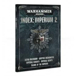 libro INDEX: IMPERIUM 2 codex WARHAMMER 40000 40K caos MANUALE a colori 168 PAGINE
