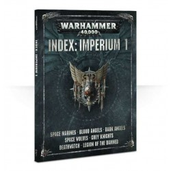 Libro INDEX: IMPERIUM 1 codex WARHAMMER 40000 40K impero MANUALE a colori 224 PAGINE
