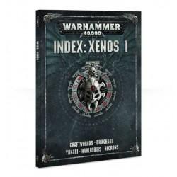 Libro INDEX: XENOS 1 codex WARHAMMER 40000 40K a colori MANUALE 224 pagine