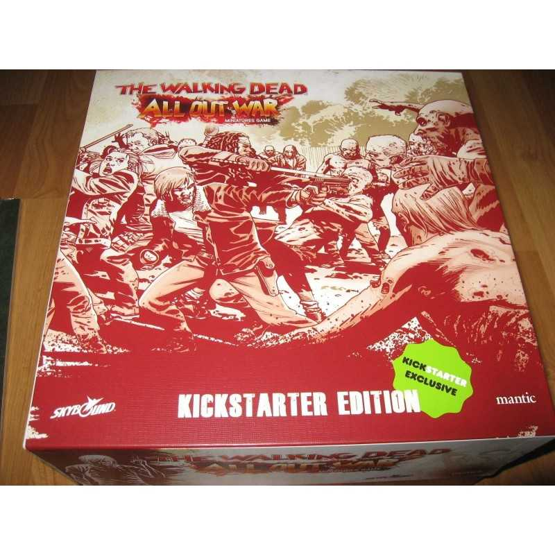 THE WALKING DEAD ALL OUT WAR Kickstarter Exclusive miniature game Something to Fear Pledge miniature