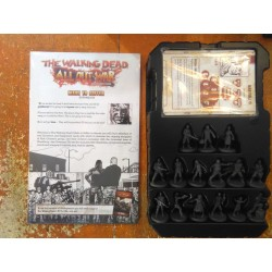 THE WALKING DEAD ALL OUT WAR Kickstarter Exclusive Wave 1 & 2 + Prison Expansion + Woodbury Expansion Something to Fear pledge