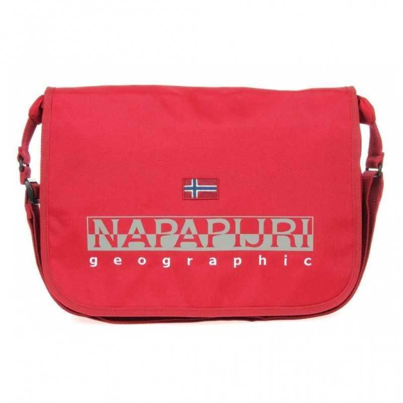 cheap sale look for look for TRACOLLA Napapijri HARRIS red REGOLABILE rosso BORSA geographic DOPPIO  SCOMPARTO con zip 2017