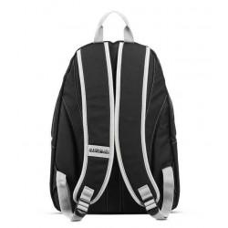ZAINO capiente NAPAPIJRI backpack VOYAGE UNI tinta unita BLACK 24,7 litri NERO