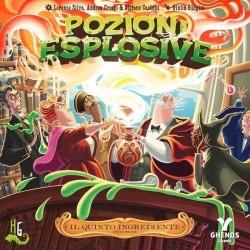 IL QUINTO INGREDIENTE espansione per POZIONI ESPLOSIVE horrible GHENOS GAMES età 8+
