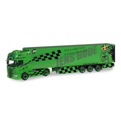 SCANIA R TL REFRIGERATED TRUCK TSU BODE Herpa 304238 Auto Trucks Camion scala 1:87 model