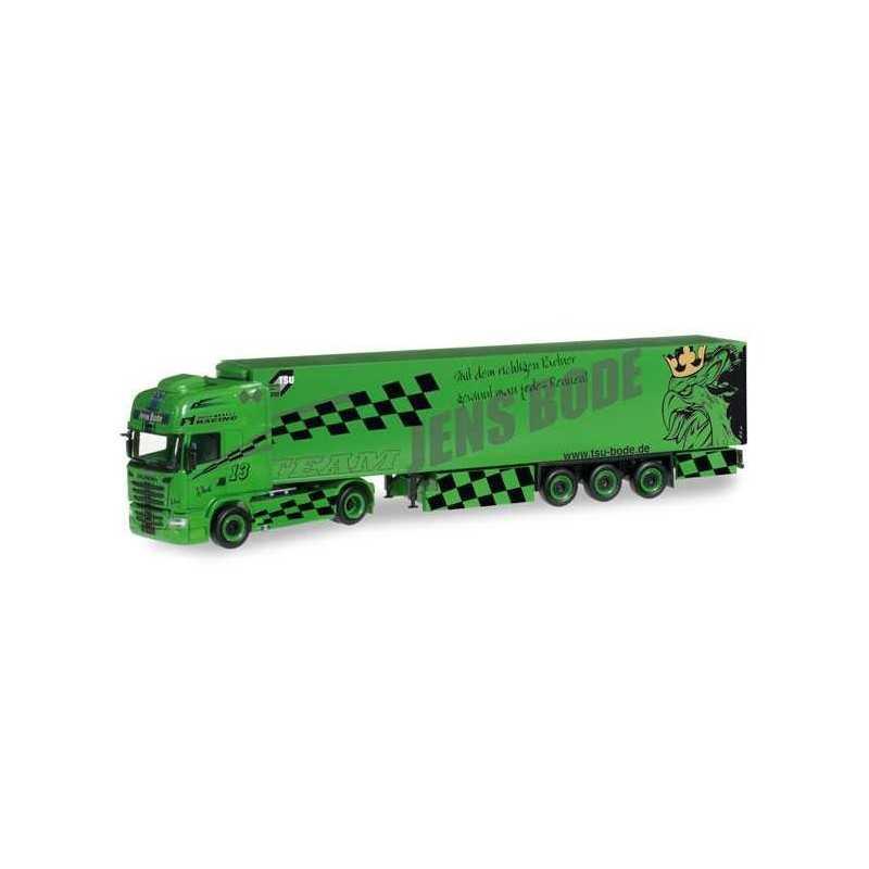 SCANIA R TL REFRIGERATED TRUCK TSU BODE Herpa 304238 Auto Trucks Camion scala 1:87 model