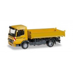 MERCEDES BENZ ATEGO 3-WAY LEONHARD WEISS Herpa 404399 Auto Trucks Camion scala 1:87 model