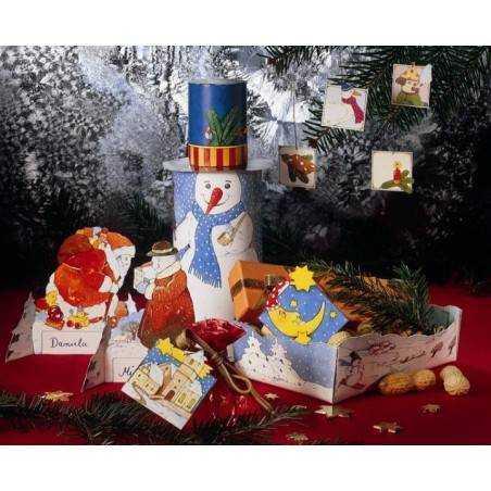 Decorazioni natalizie di carta