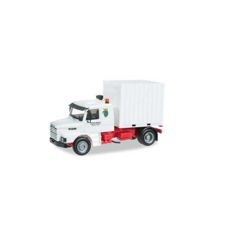 SCANIA 143 HAUBER RIGID TRACTOR Herpa 404399 Auto Trucks Camion scala 1:87 model