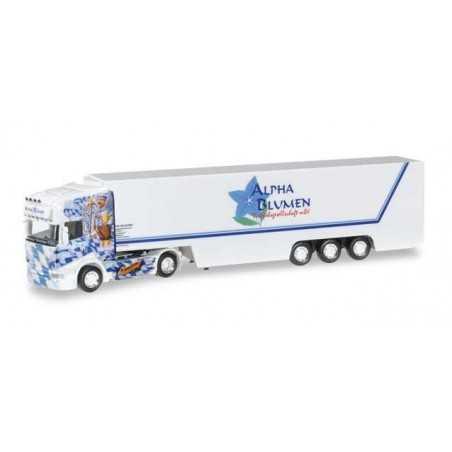 SCANIA R TL ALPHA BLUMEN ALOISIUS Herpa 304214 Auto Trucks Camion scala 1:87 model