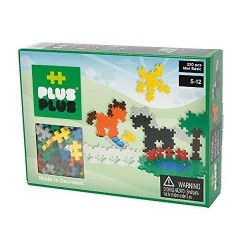 MINI BASIC 220 pezzi PLUSPLUS gioco modulare CAVALLI costruzioni PLUS PLUS età 5+
