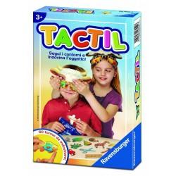 TACTIL Ravensburger TATTILE gioco di società CINDOVINA L'OGGETTO forme MASCHERE età 3 - 8