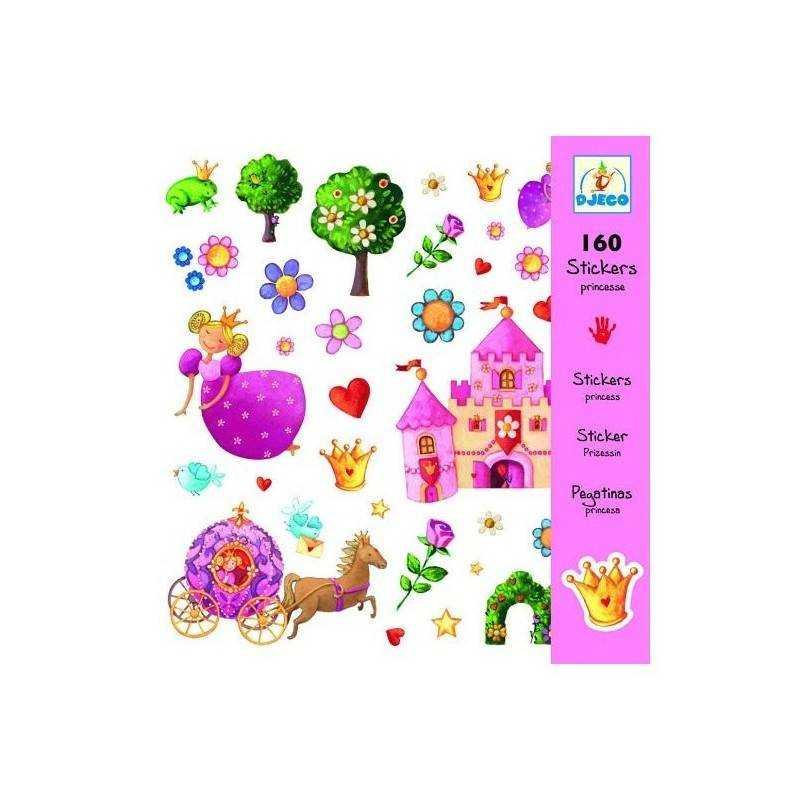 Autocollants « Princesse » 160 PCs