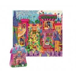 Schloss-Puzzle, 54 Stück. 5 Jahre +