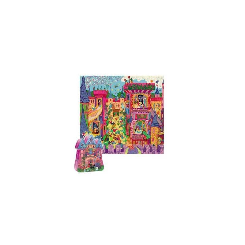 Château de fées Puzzle, 54 PCs. 5 ans +