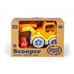 RUSPA Scavatrice Green Toys Scooper in plastica riciclata da 2 anni
