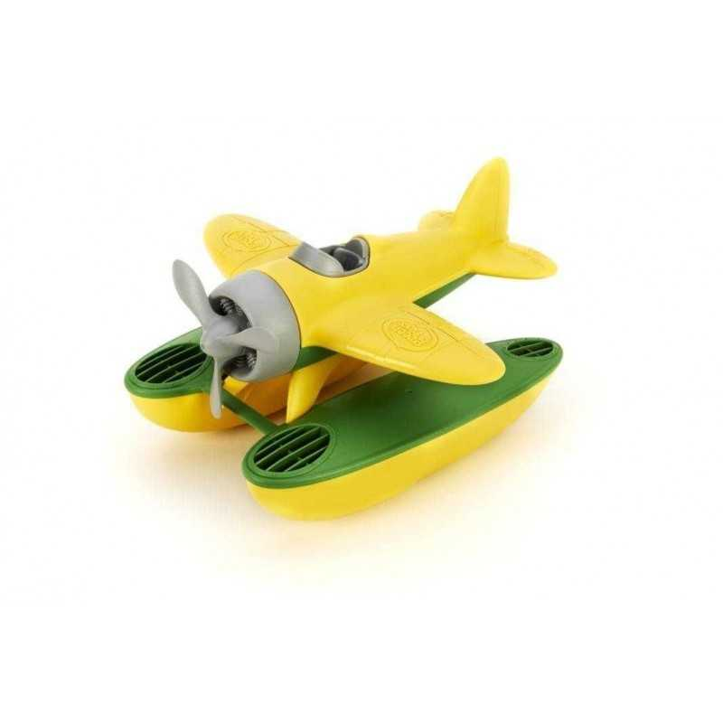 IDROVOLANTE Seaplane Green Toys in plastica riciclata da 2 anni