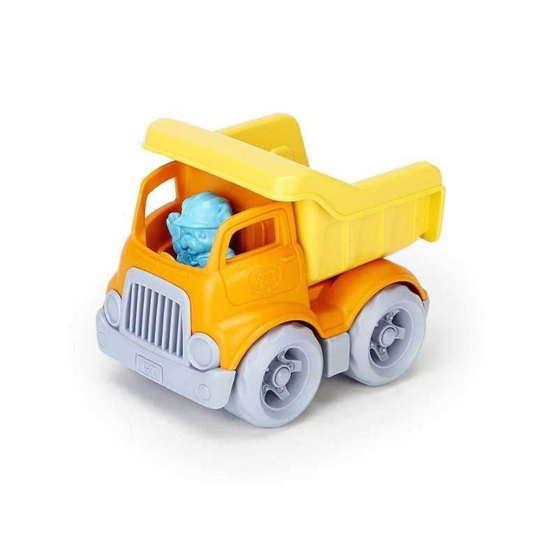 CAMION RIBALTABILE Green Toys Dumper in plastica riciclata da 2 anni