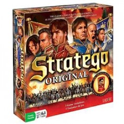 STRATEGO Original edizione multilingue DISET gioco di strategia per 2 giocatori